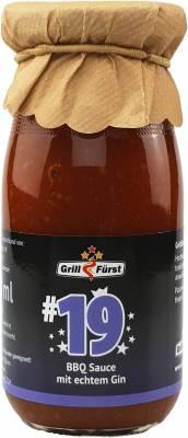 Grillfürst BBQ Sauce No. #19, die BBQ Sauce mit Gin