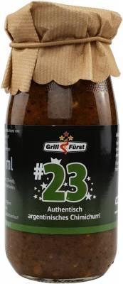 Grillfürst BBQ Sauce No. #23, das authentisch argentinische Chimichurri