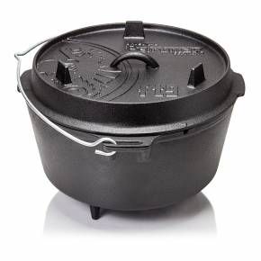 Petromax ft9 Feuertopf 8,5 Liter Dutch Oven - mit Füßen