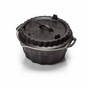 Petromax Gugelhupfform mit Tortenboden-Deckel
